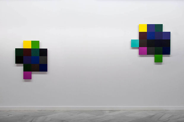 Beatriz Castela. The veil (El velo), 2017. D-CODING solo exhibition. Sala Europa, Badajoz (Spain)