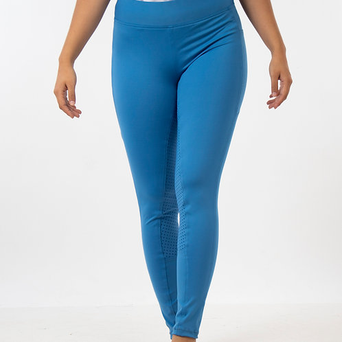 Leggins full seat celeste