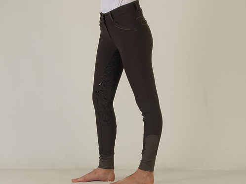 Breech Mujer Full seat Gris
