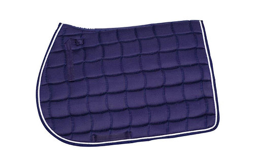 Mandil Azul, sesgo azul, cinta plata Dry Fit