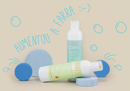 Shampoo e condicionador Magna Fili