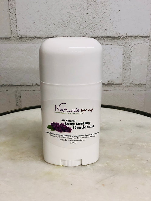 Natures Syrup Natural Deodorant