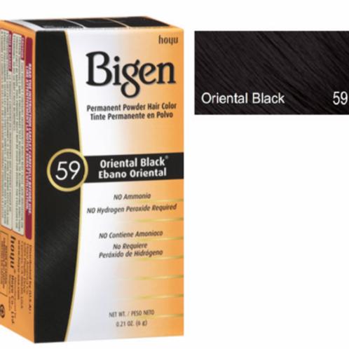Bigen Oriental Black