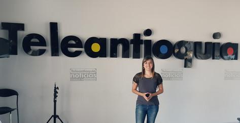 Entrevista programa Hola día - Teleantioquia