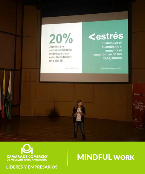 Mindfulness en el trabajo Sandra Sanson