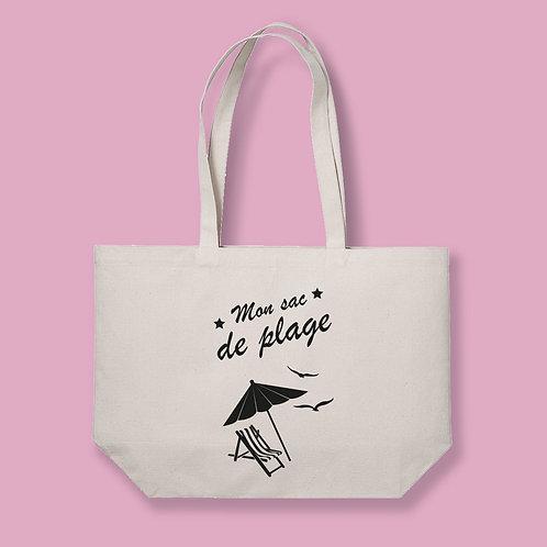 Tote bag XL, sac de plage, cabas de plage, sac de plage enfant