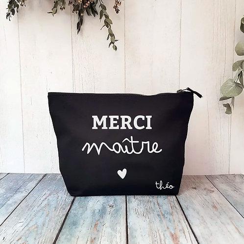 """Trousse (de toilette) en coton """"Petit coeur"""""""