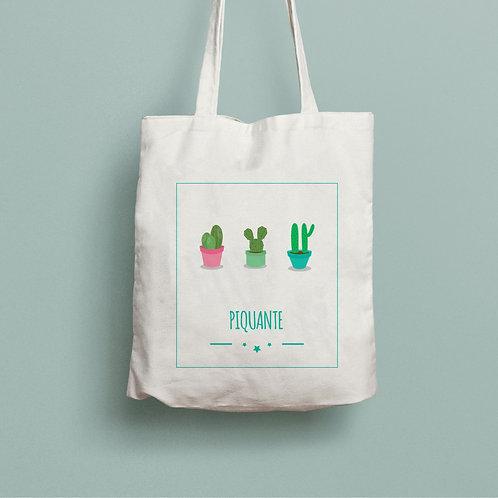 tote bag coton cactus, Luz et Nina