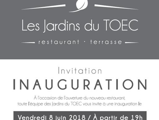 Inauguration du restaurant