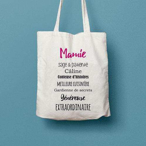 tote bag maîtresse, cadeau maîtresse, cadeau maman, fête des mères, sac personnalisé, tote bag personnalisé, luz et nina