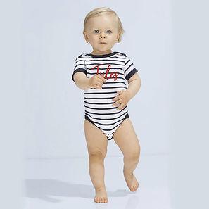 body bebe personnalise