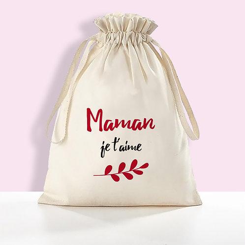 pochons personnalisé, sac personnalisé, cadeau fête des mère, cadeau mamie, cadeau maîtresse