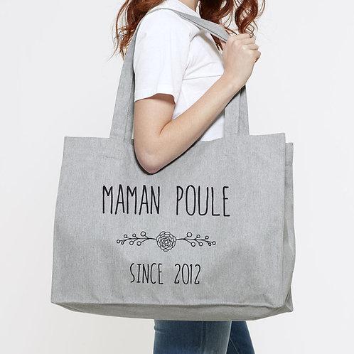 tote bag maman, fête des mère, maman d'amour, sac personnalisé, cadeau fête des mères