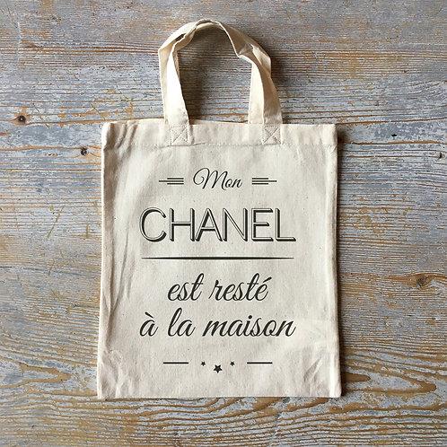 tote bag, mini tote bag, sac chanel, sac enfant, tote bag enfant, luz et nina