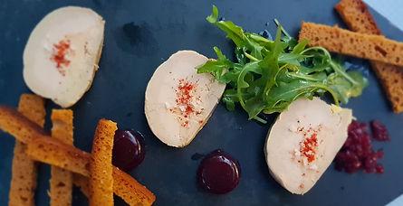 Foie gras maison restaurant Les Jardins du TOEC