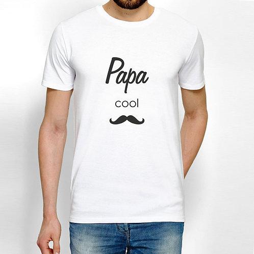 T-shirt personnalisé daddy cool, cadeau personnalisé Luz et Nina