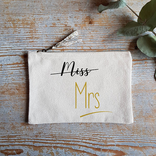 "Pochette - Trousse ""Miss - Mrs"""