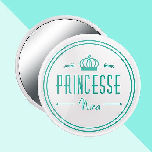 "MIROIR, MAGNET ou BADGE ""Princesse"""