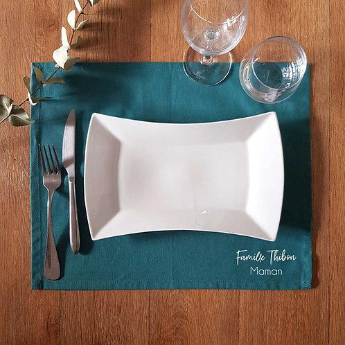 Sets de table personnalisé