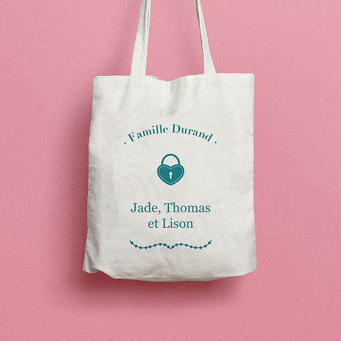 "Tote bag ""Famille"" - CLASSIC"