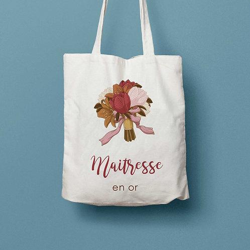 """Tote bag """"Bouquet vintage"""" - CLASSIC"""
