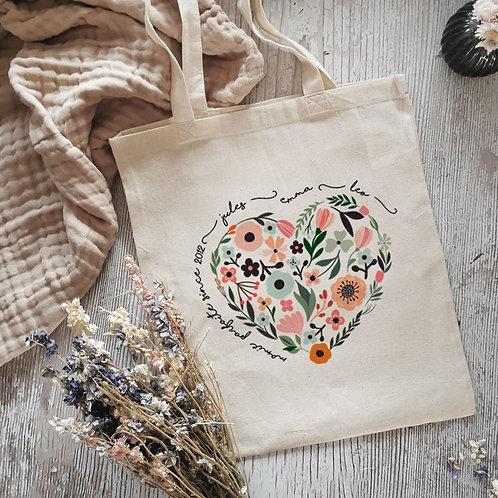 Tote bag personnalisé fête des grands-mères mamies