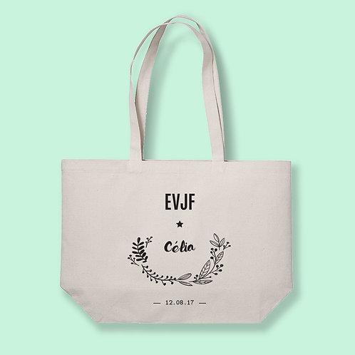 Tote Bag XL EVJF - Mariage - by Luz et Nina