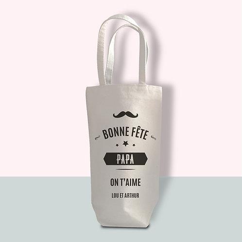 Porte bouteille personnalisé, cadeau papa, cadeau anniversaire, cadeau noël