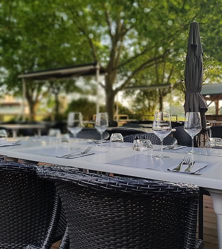 Terrasse Restaurant Les Jardins du TOEC