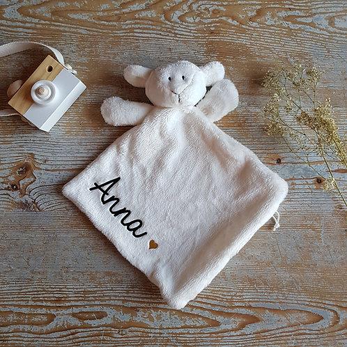 doudou agneau personnalisé