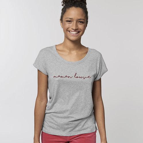T-shirt maman louve