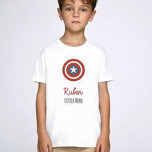 t-shirt super héros personnalisé