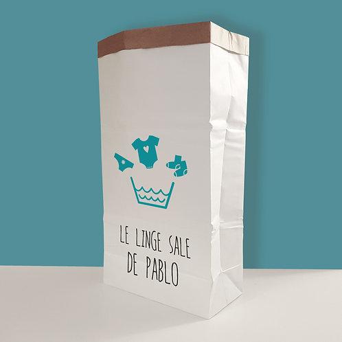 PAPER BAG, sac de rangement en papier, papier kraft, rangement jouets, panier à jouet, enfant