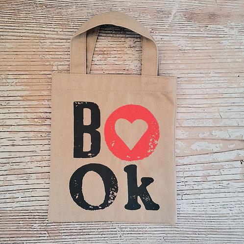 "Mini Tote bag ""Book"""