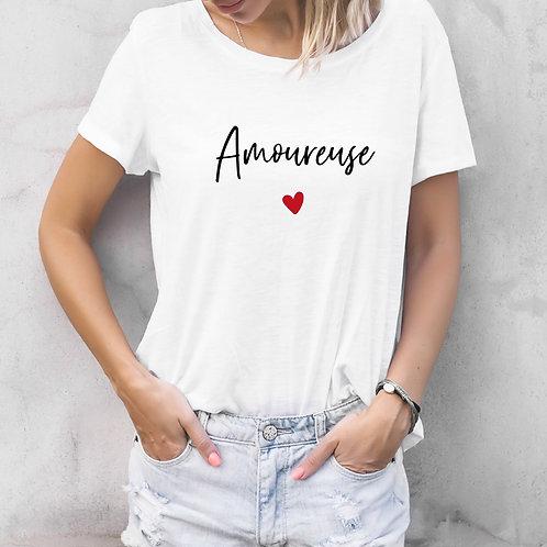 T-shirt amoureuse