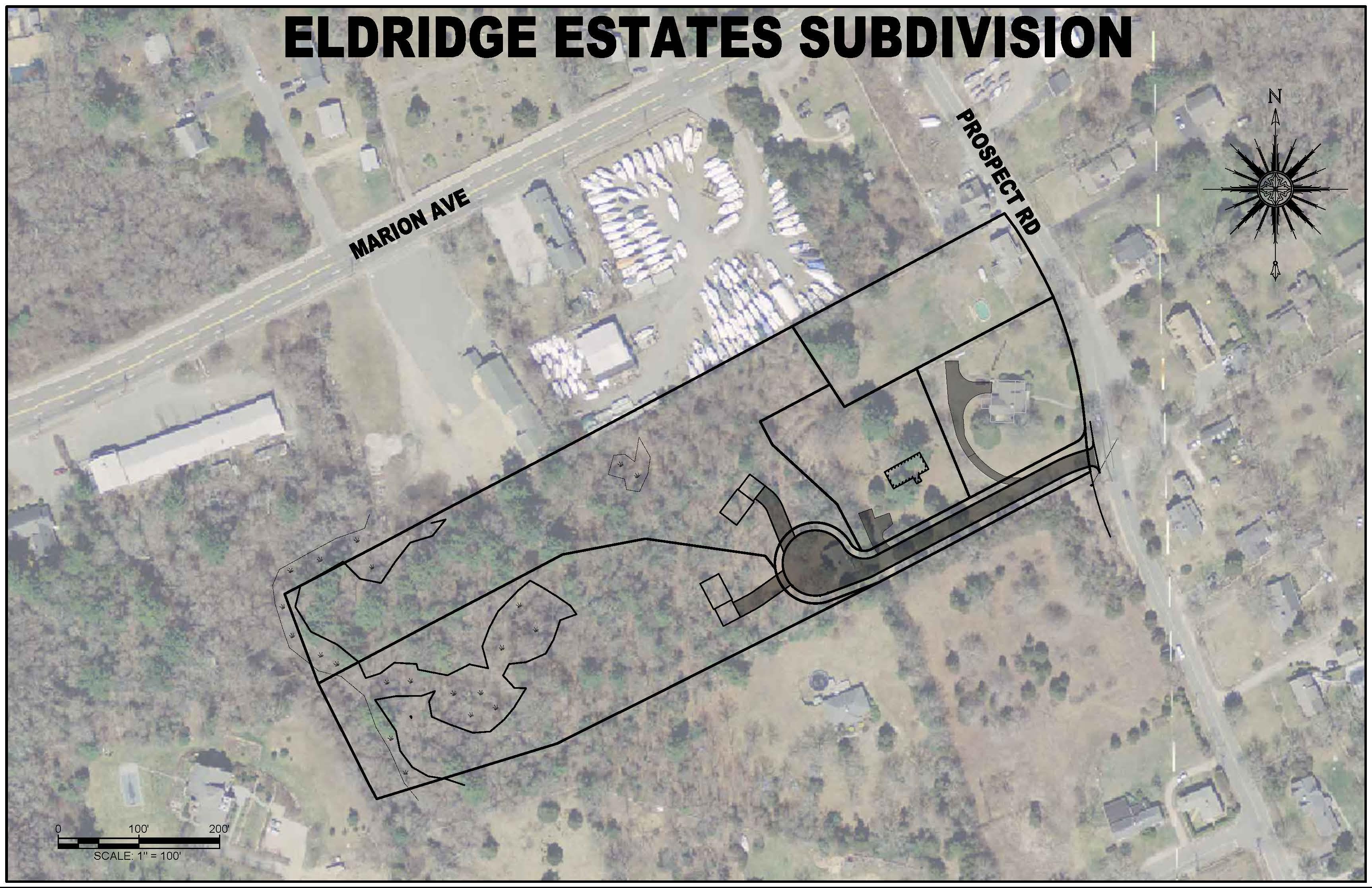 Subdivision Aerial View