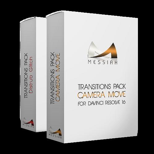 Camera Move + Distrub Glitch Packs