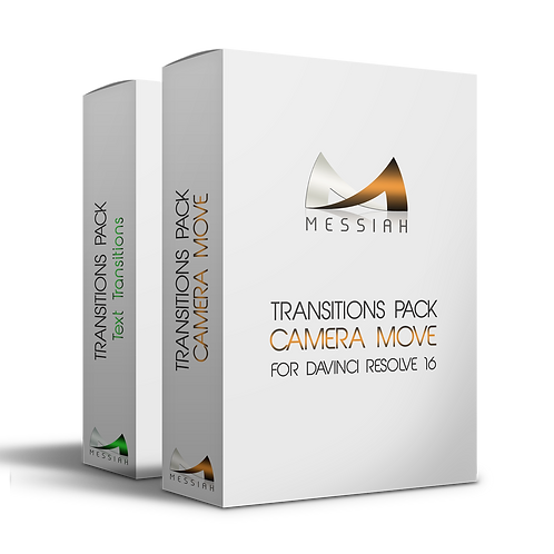 Camera Move + Text Transitions Packs