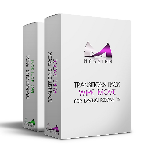 Wipe Move + Text Transitions Packs
