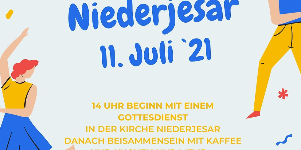 Sommerfest in Niederjesar