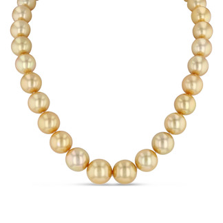 Gold Southsea Pearl Necklace