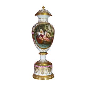 Large French Sevres Vase