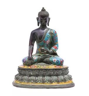 Cloisonne Bodhisattva