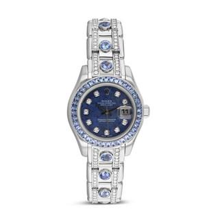 Rolex Masterpiece Sapphire & Diamond Watch