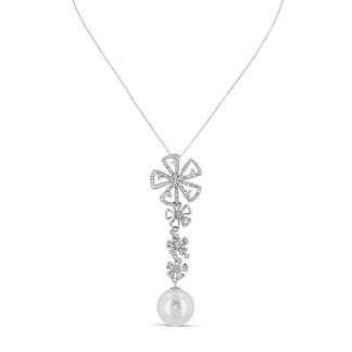 Southsea Pearl & Diamond Pendant