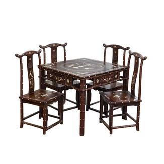 Wooden Mahjong Table