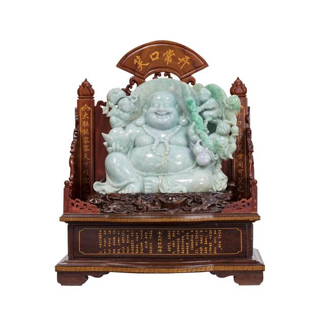 Jadeite Buddha Carving
