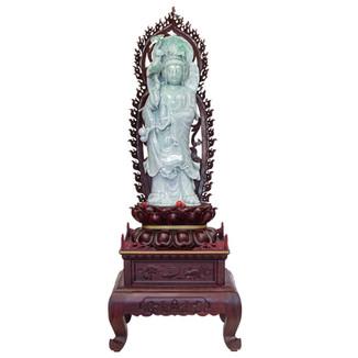 Jadeite Guanyin