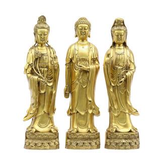 Set of Bronze Three Goddess
