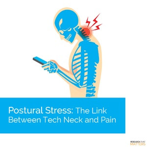 Postural Stress: The Link Between Tech Neck and Pain